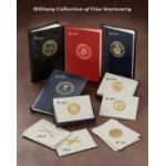U.S.Military Note Cards/Award Holders &Certificates