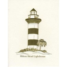 South Carolina Note Card Hilton Head Lighthouse