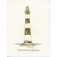 South Carolina Note Card Morris Island Lighthouse