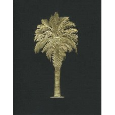 Palmetto Tree Black/Gold embossed