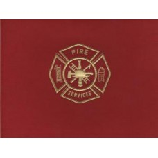 Fire Maltese Cross Red Note Card
