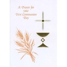 RELIGIOUS, FIRST COMMUNION