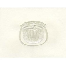 Nantucket Lightship Basket Pearl Embossed