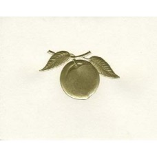 South Carolina Note Card Gold Peach